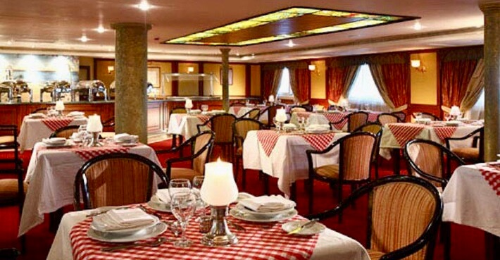 Nubian Sea Nile Cruise - Restaurant