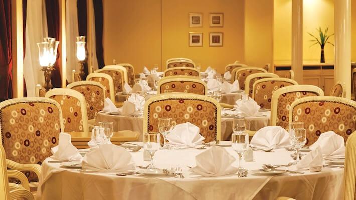 Prince Abbas Nile Cruise - Main Restaurant