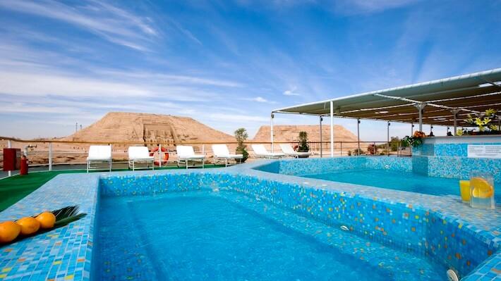 Prince Abbas Nile Cruise - Pool Deck