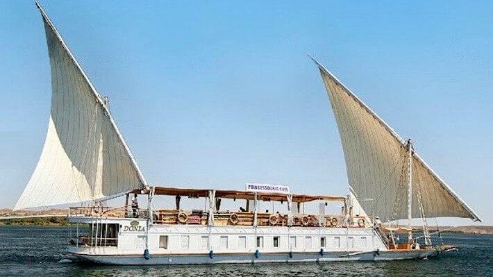 Princess Donia Dahabiya Nile Cruise
