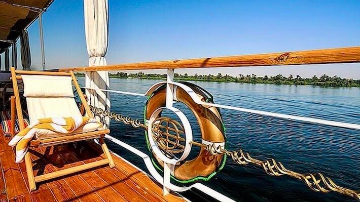 Princess Donia Nile Cruise - Sun Deck