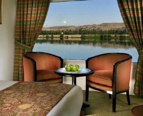 Sonesta Amirat Dahabiya Nile Cruise Room 3