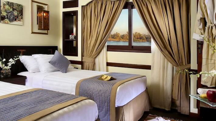Sonesta Amirat Dahabiya Nile Cruise Room