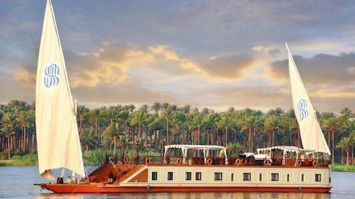 Sonesta Amirat Dahabiya Nile Cruise