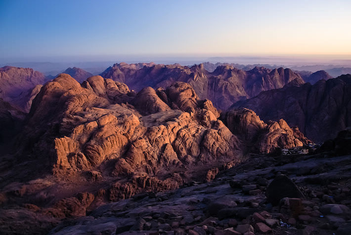 Mount Sinai View at Sunrise