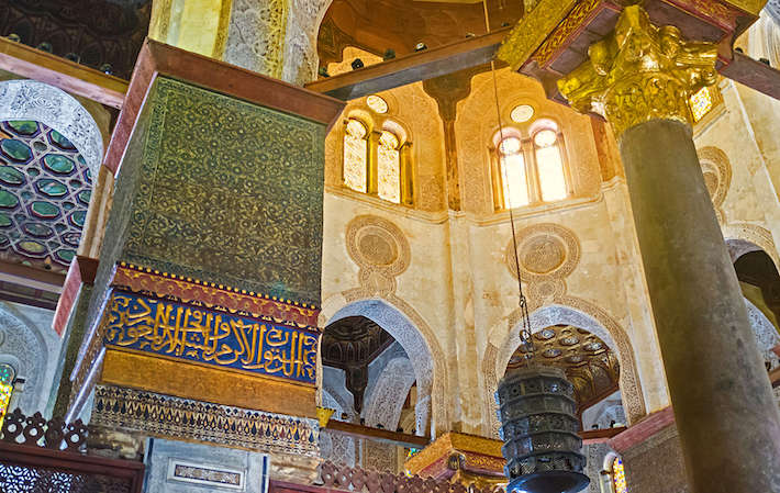 The interiors of Qalawun Mausoleum are great examples of medieval Islamic art