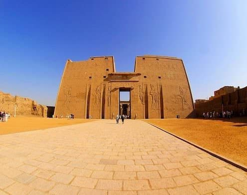 10 Day Egypt Tours - Temple at Edfu - Egypt