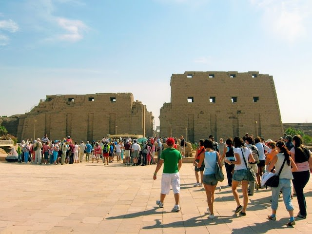 6 Day Egypt Tours - Pylons of Karnak Temple. Ancient Thebes