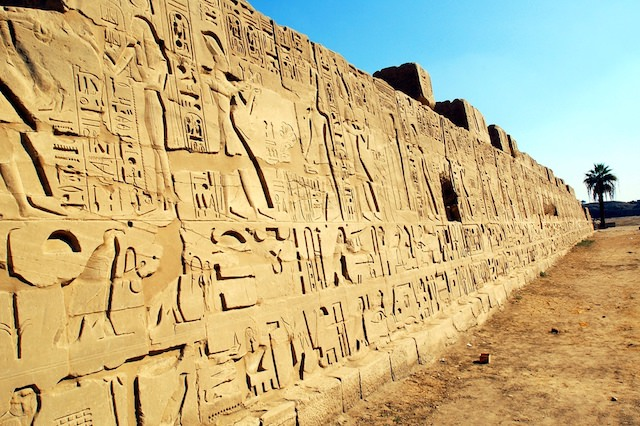 8 Day Egypt Tours - Hieroglyph writings of ancient Egyptians