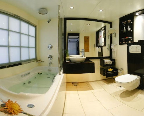 Royal Lily Nile Cruise Bathroom