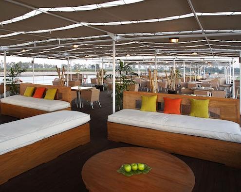 Royal Lily Nile Cruise Oriental Corner-Sundeck