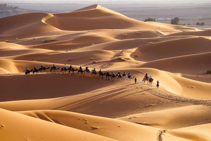 Desert safari adventure in M'hamid, Marrakech