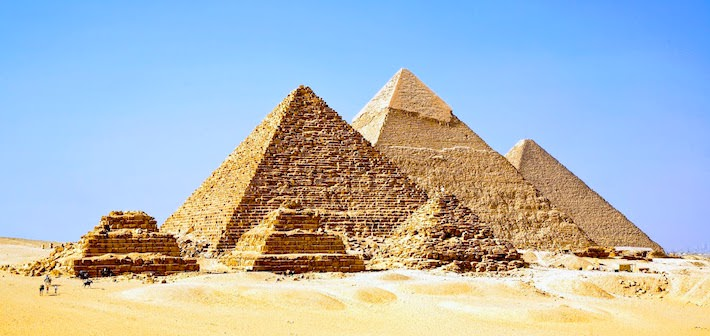 Egypt Tour Packages from Dubai - Giza Pyramids Panorama