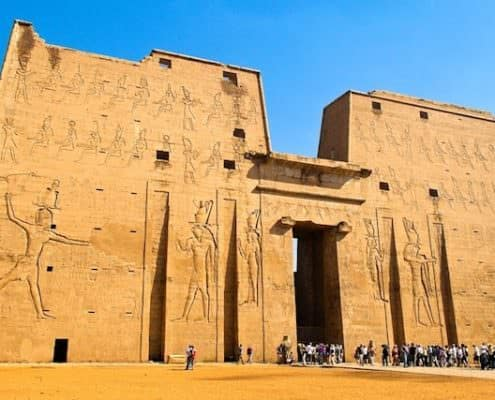Egypt Tour Packages from Dubai - Horus Temple, Edfu