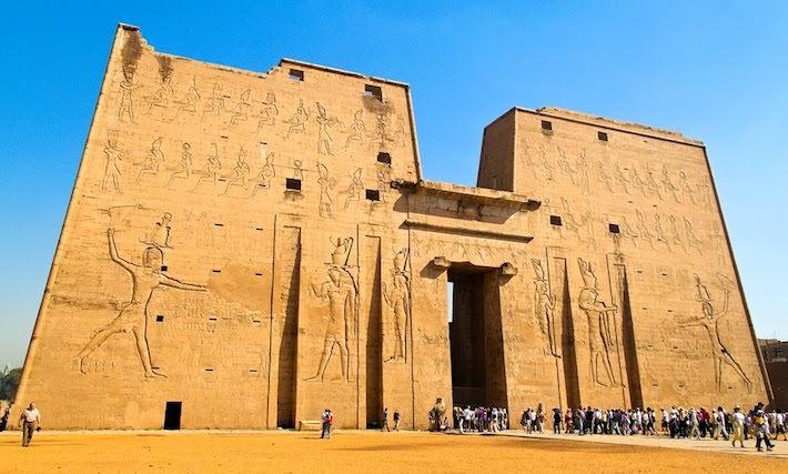 Egypt Tour Packages from Dubai - Horus Temple, Edfu