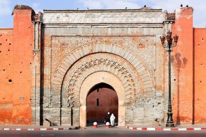 Façade of Bab Agnaou