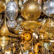Lamp shop bazaar at Place Des Ferblantiers