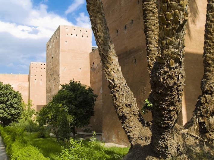Saadians Tombs exterior