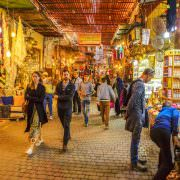 Souk Semmarine is a traditional Berber market and one of the most important attractions in Marrakesh