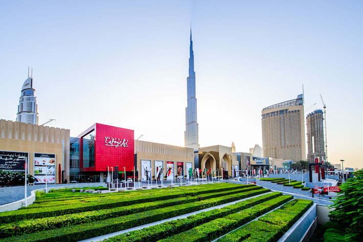 Main Entrance to the Dubai Mall