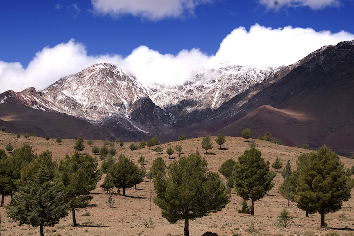 Atlas High Mountains, North Africa - Photo by Anna & Michal, Flicr