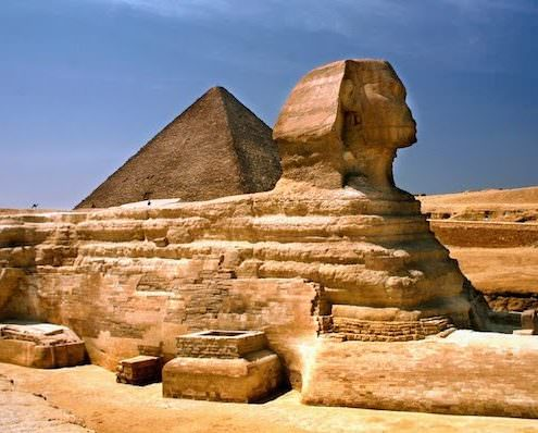Middle East Tours - The Sphinx in Giza, Egypt