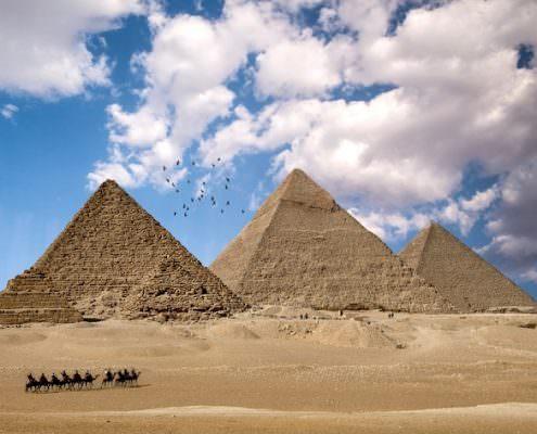 North Africa Tours -The Amazing Giza Pyramids