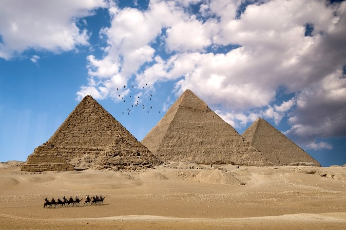 North Africa Tours -The Amazing Giza Pyramids