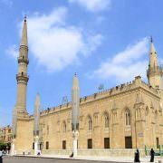 Al-Hussein Mosque - Cairo, Egypt