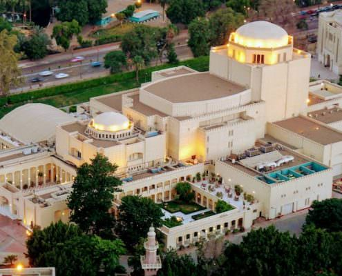 Cairo Opera House Aerial View