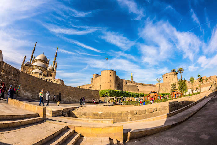Citadel of Saladin with Alabaster Mosque, Cairo