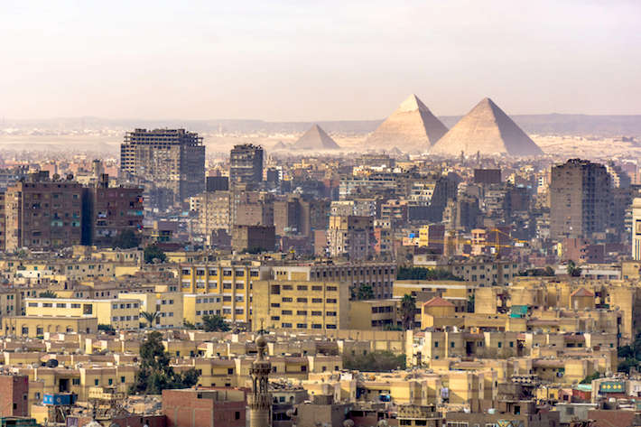 View from Cairo Citadel in the morning