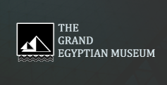 Logo of the Grand Egyptian Museum - Giza Museum