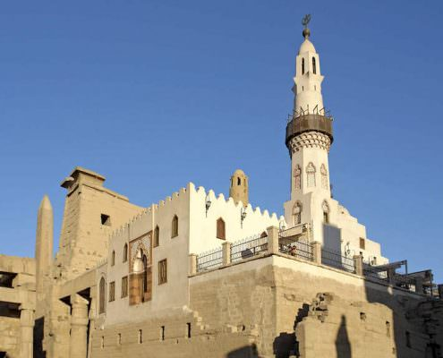 Abu Haggag Mosque, Luxor Temple, Egypt