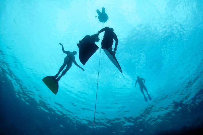 Freedivers, Blue Hole, Red Sea