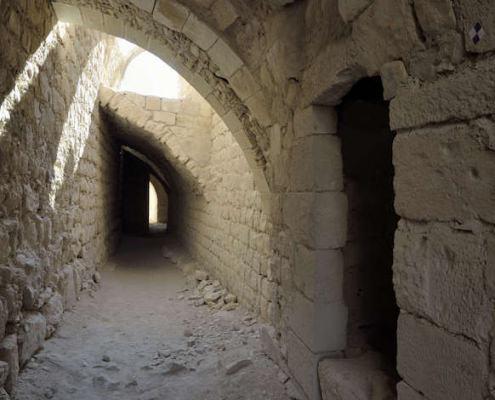 Inside Montreal Crusader Castle, aka Shobak Castle, Jordan