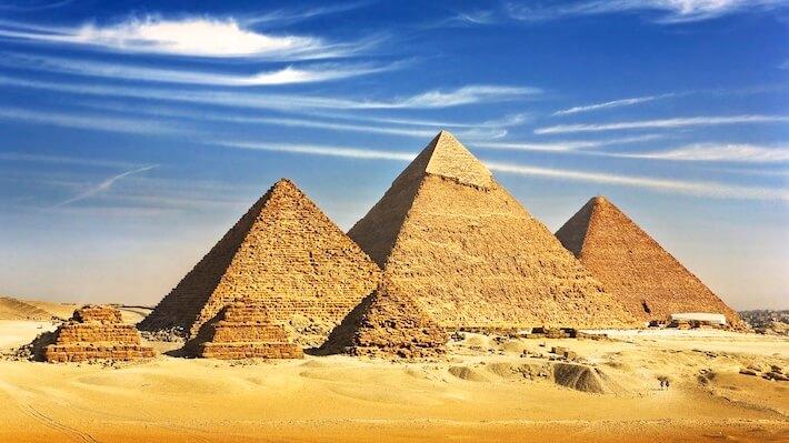 Cruceros por el Nilo - Meseta de Giza
