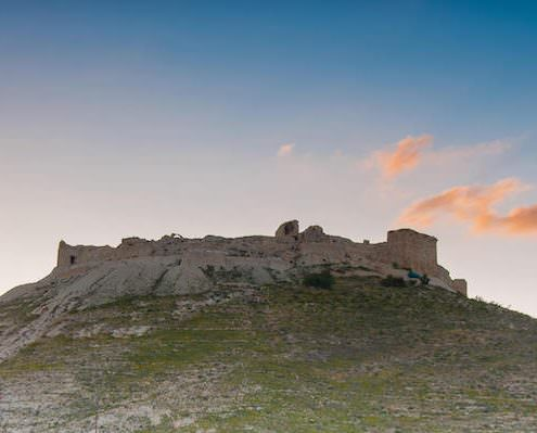 Montreal Crusader Castle - Built in 1115 by Baldwin I of Jerusalem in Shoubak, Jordan