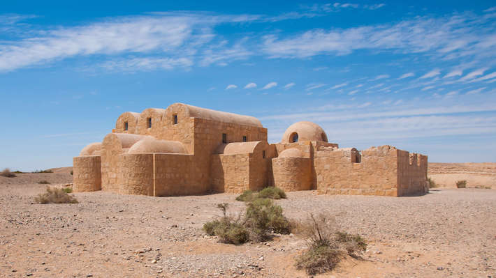 Qasr Amra is one of the most important examples of early Islamic architecture