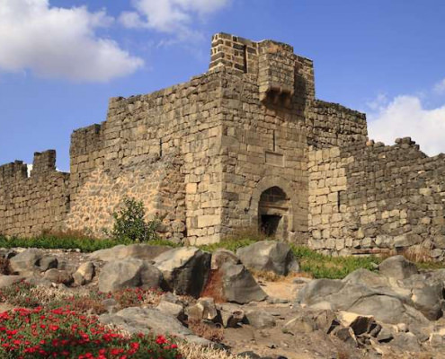 Qasr al-Azraq is one of serveral Desert castles in eastern Jordan