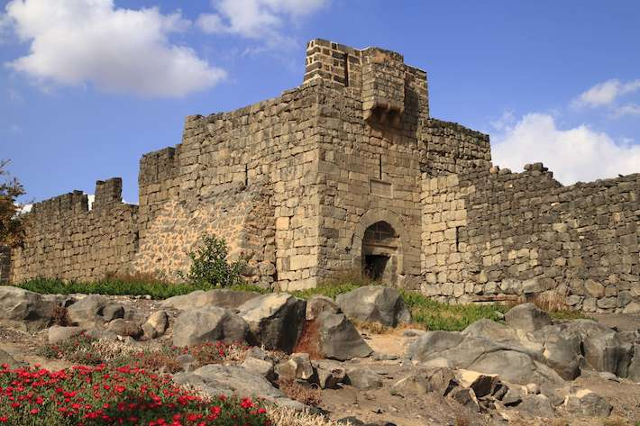 Qasr Azraq is one of serveral Desert castles in eastern Jordan