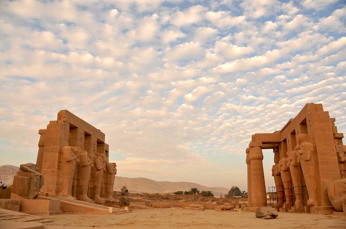 Viajes organizados Egipto - Ramesseum, Luxor