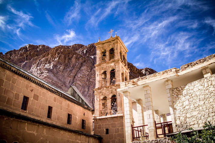 St. Catherine's Monastery at the foot of Mount Sinai