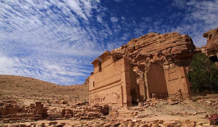 Temple of Dushares, Petra, Jordan