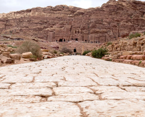 The marvelous stone road to Great Temple