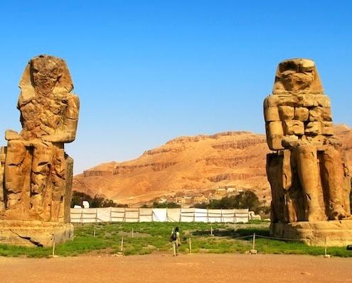 Crucero Nilo - Colosos de Memnón
