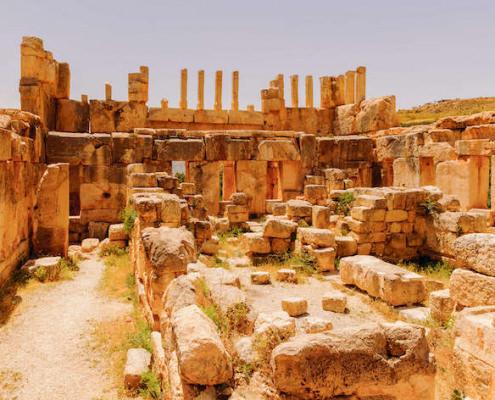 Hellenistic ruins of Qasr al-Abd
