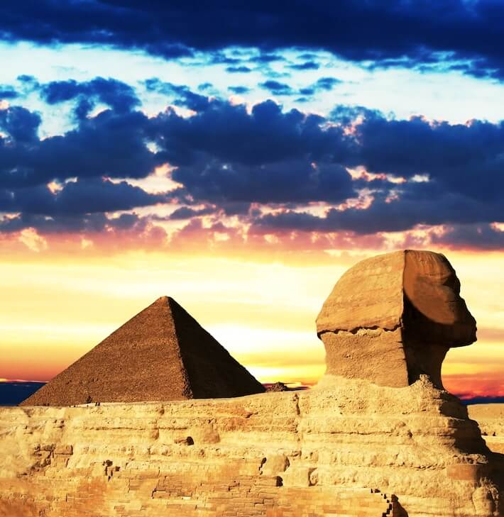 Paquetes turisticos Egipto - Esfinge Egipcia