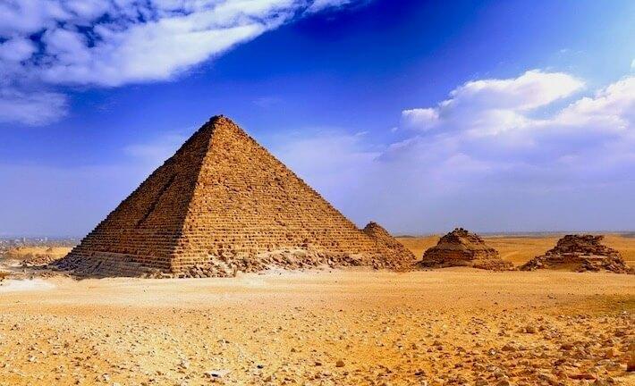 Viajes a las Pirámides de Egipto - Pirámide de Micerino