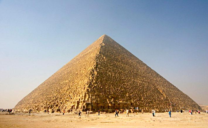 Viaje a las Pirámides de Egipto - Pirámide de Keops